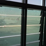 Looking out to aircraft in Qatar