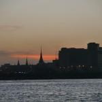 The Sun sets over Phnom Penh