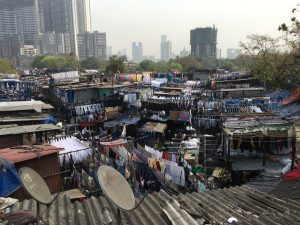 Dhobi Ghat is the largest outdoor laundry in Mumbai.