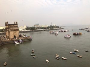 The Gateway of India as seen from our hotel room!