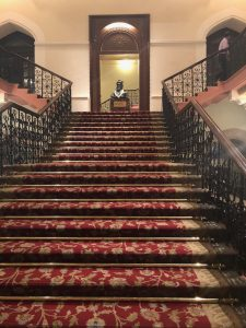 The Royal Staircase in the Taj Mahal Palace 'Heritage Wing'