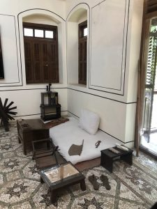 Gandhi's bedroom at his friend's house where he stayed whenever he was in Bombay.