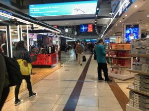 Dubai International Airport shopping mall