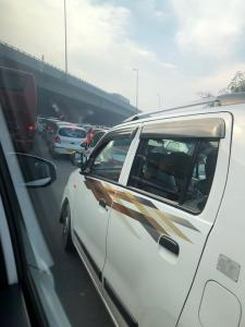 Traffic in Delhi is both chaotic and fun!