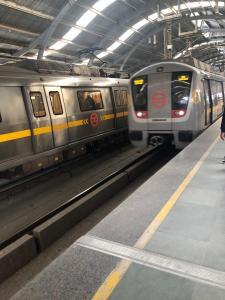 The Delhi Metro is wonderful!