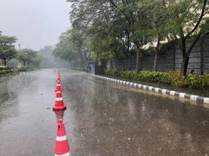 Proper rain!