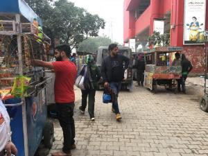 Street vendors are everywhere