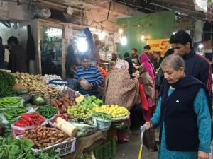 Fruit and Veg in the Babu Market