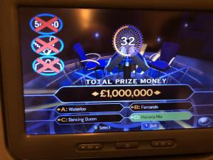 I just won a million pounds!!!!